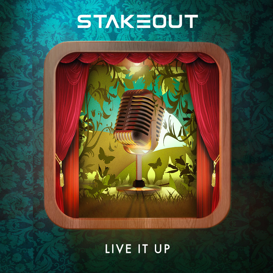 Stakeout Album Cover Design