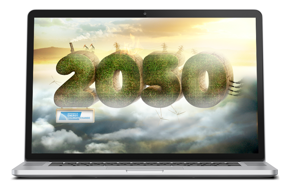 DECC 2050 Flash Game