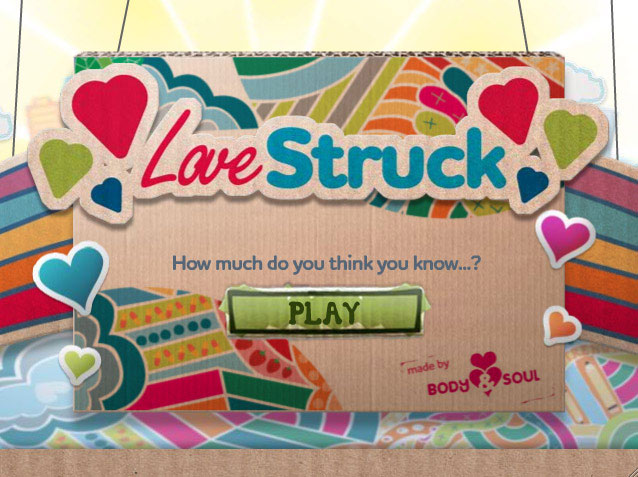 LoveStruck Flash Game