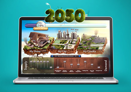 DECC 2050 Flash Game Design