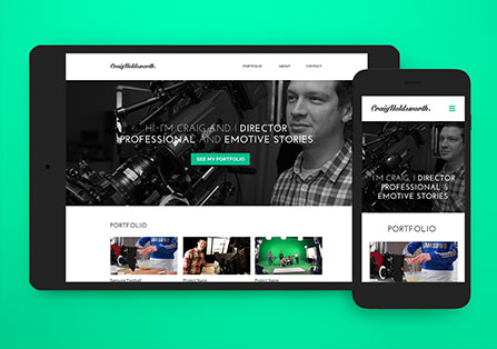 Craig Holdsworth Responsive Website Design