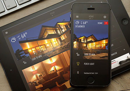 Digital Home App Designs