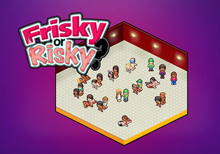 Frisky or Risky Pixel Flash Game