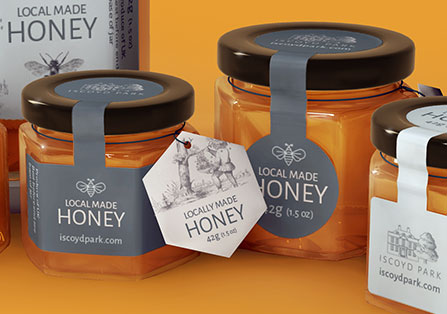 Honey Label Renders
