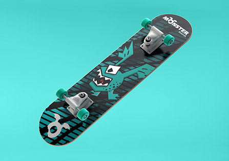 Monster Boards Branding