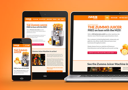 Zummo Responsive Website Designs