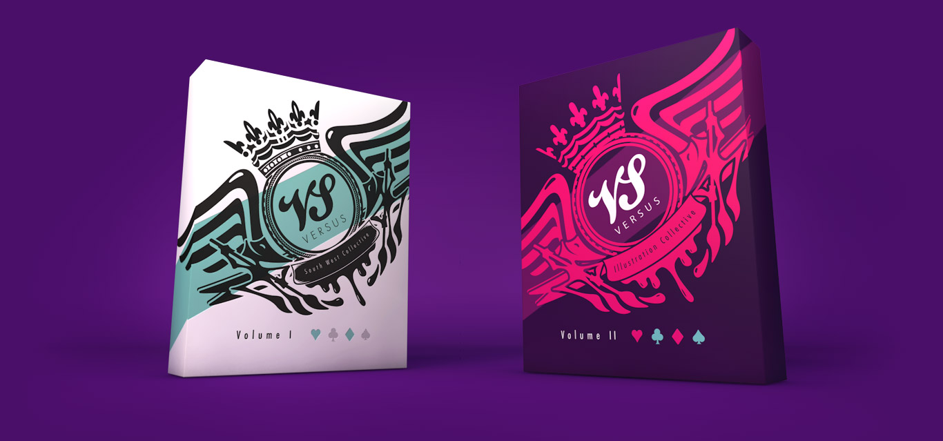 Versus Illustration Playing Card Packs